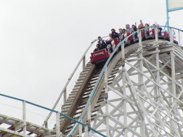 Riverside Cyclone photo from Six Flags New England