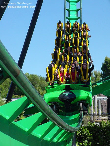 Riddler's Revenge photo from Six Flags Magic Mountain