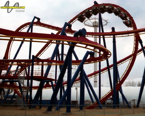 Superman Ultimate Flight photo from Six Flags Great Adventure