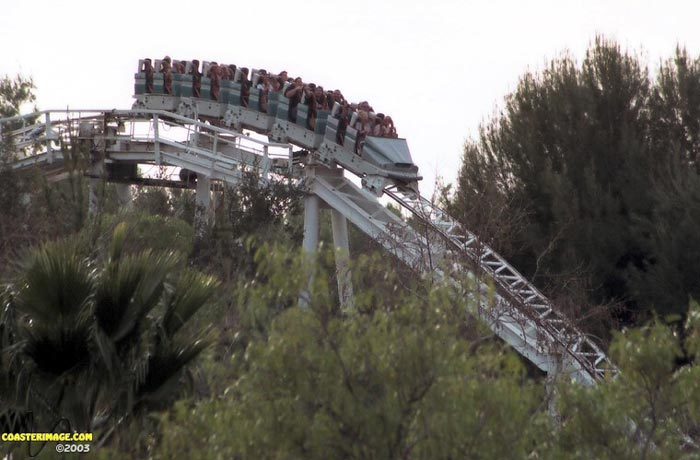 Revolution photo from Six Flags Magic Mountain