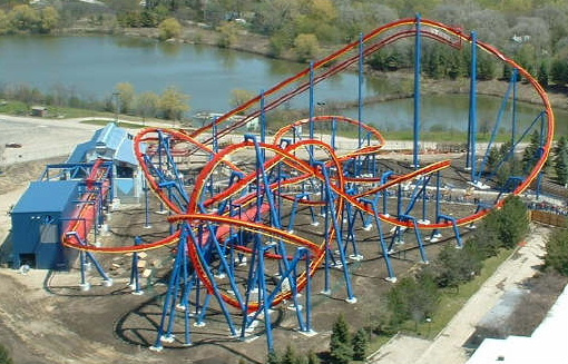 Superman Ultimate Flight photo from Six Flags Great America