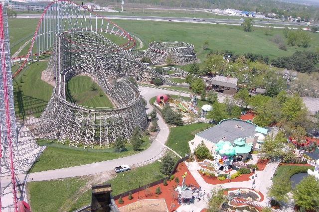 Timber Wolf photo from Worlds of Fun