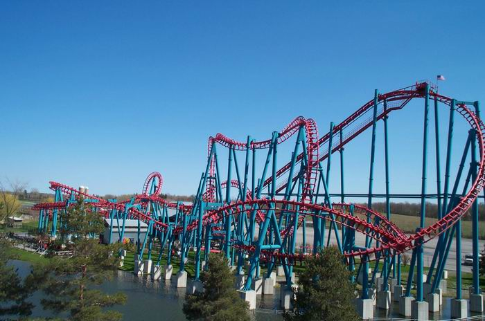 Mind Eraser photo from Six Flags Darien Lake