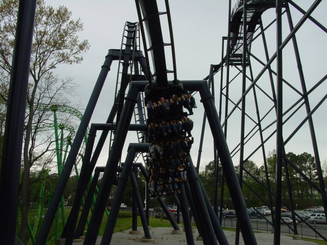 Batman: The Ride photo from Six Flags Over Georgia