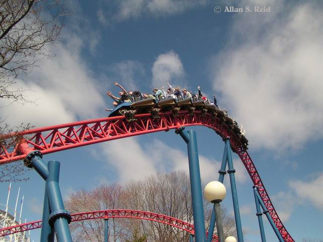 Superman: Ride of Steel photo from Six Flags New England