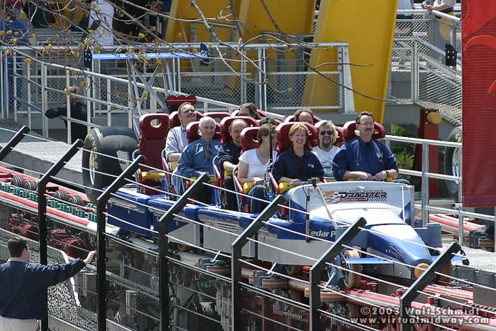 Top Thrill Dragster photo from Cedar Point