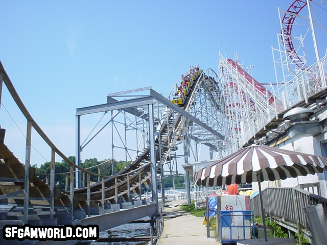 Cornball Express photo from Indiana Beach