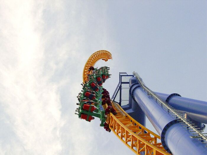Steel Venom photo from Valleyfair!