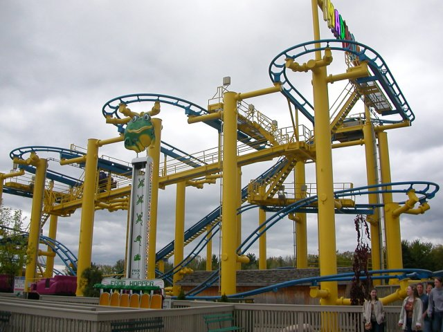Mad Mouse photo from Michigan's Adventure