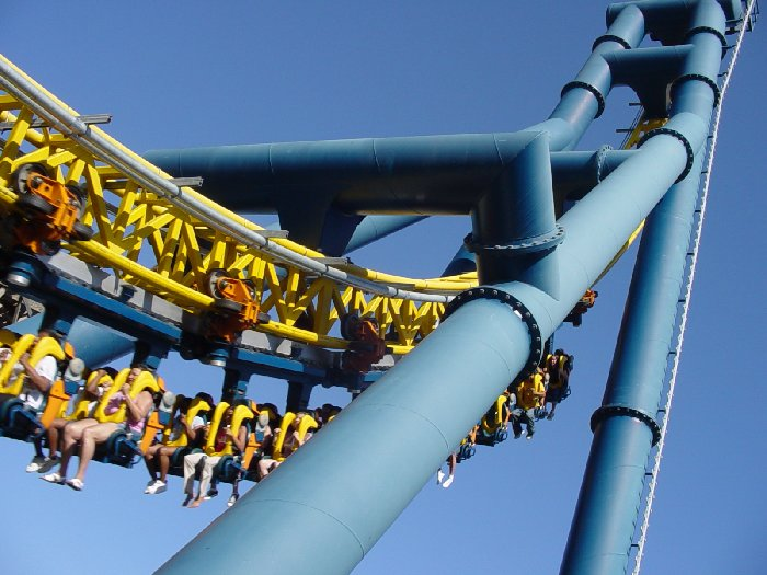 Vertical Velocity photo from Six Flags Discovery Kingdom