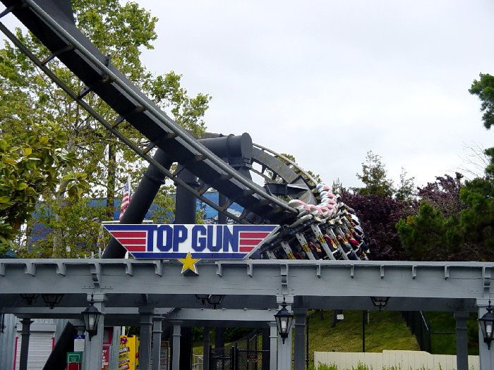 Top Gun photo from California's Great America