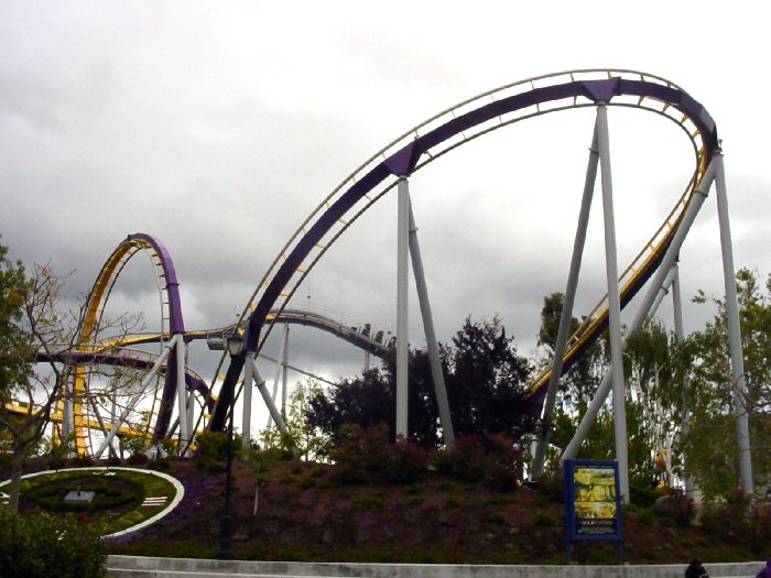 Vortex photo from California's Great America