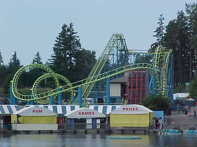 The Wild Thing Roller Coaster photo from Wild Waves