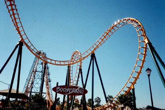 Boomerang photo from Wild Adventures