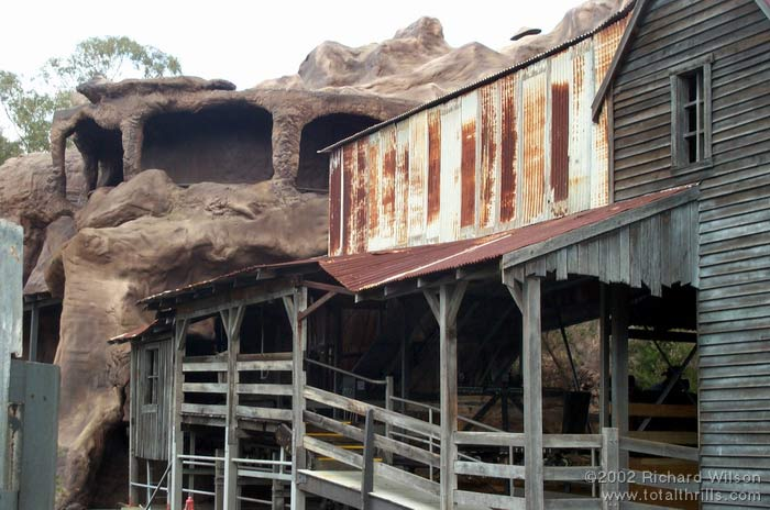 Eureka Mountain Mine Ride photo from Dreamworld