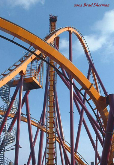 Raging Bull photo from Six Flags Great America