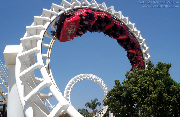 Corkscrew photo from Sea World Australia