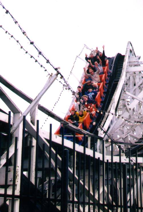 Coaster Thrill Ride photo from Western Washington Fair