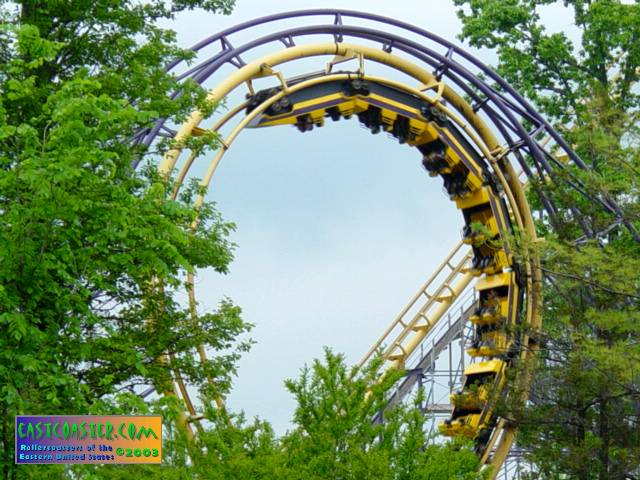 Double Loop photo from Geauga Lake