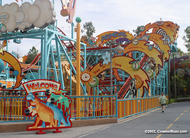 Primeval Whirl photo from Disney's Animal Kingdom