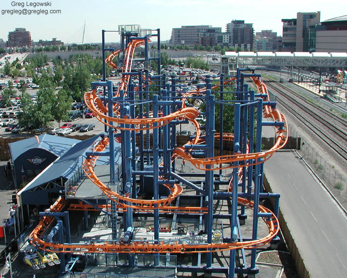 The Flying Coaster photo from Elitch Gardens