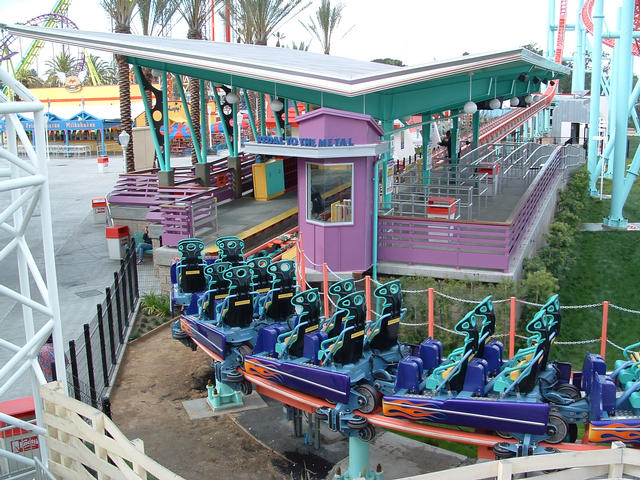 Xcelerator photo from Knott's Berry Farm