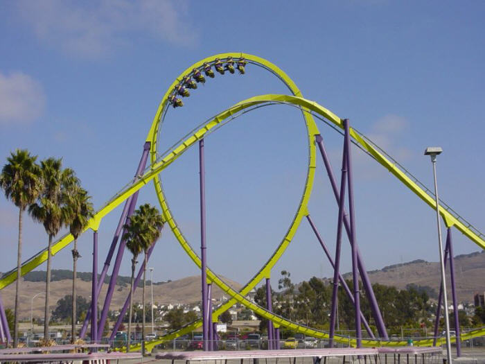 Medusa photo from Six Flags Discovery Kingdom