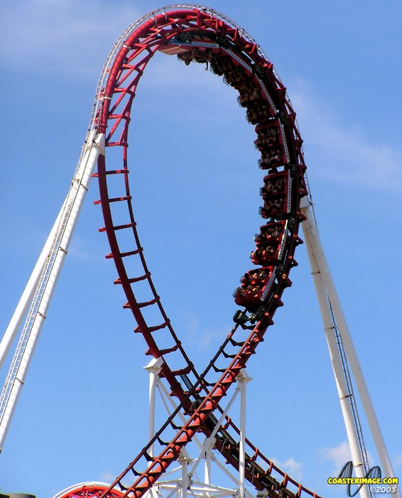 Great American Scream Machine photo from Six Flags Great Adventure
