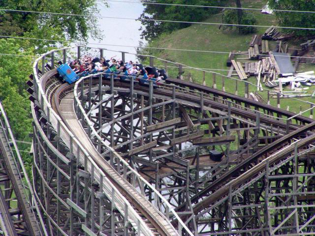 Texas Giant photo from Six Flags Over Texas