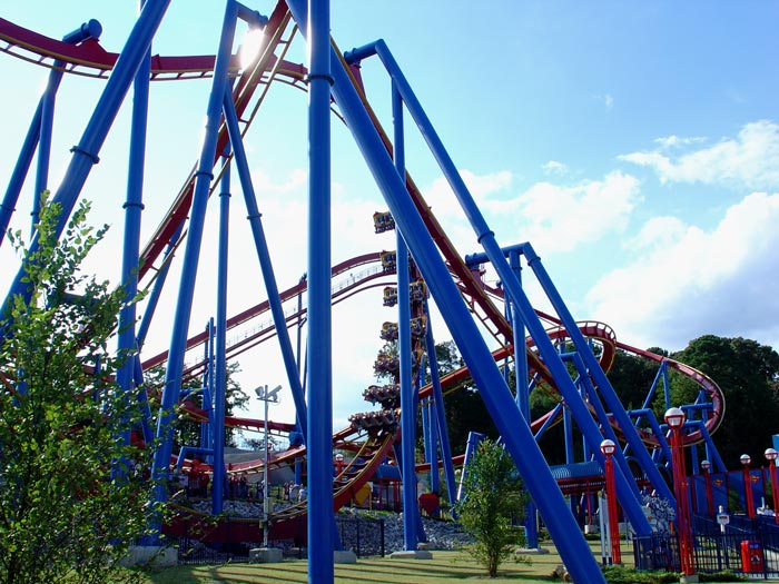 Superman Ultimate Flight photo from Six Flags Over Georgia