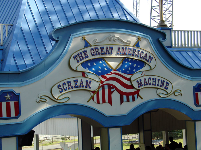 scream machine six flags