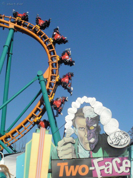 Two Face: The Flipside photo from Six Flags America