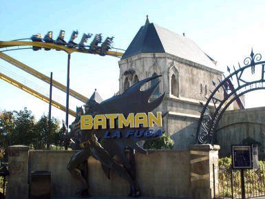 Batman photo from Warner Bros. Movie World Madrid