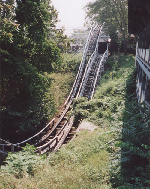 Jack Rabbit photo from Kennywood