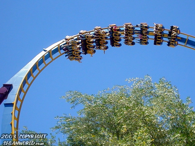 Scream photo from Six Flags Magic Mountain
