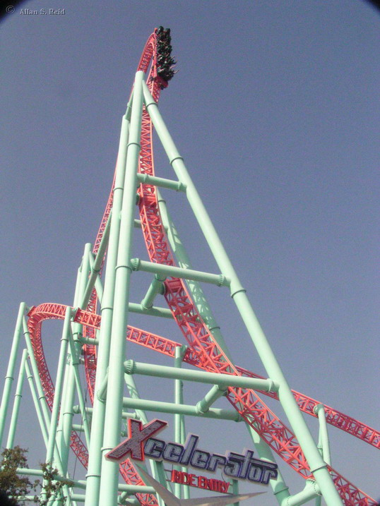 Xcelerator Roller Coaster Xcelerator photo from ...