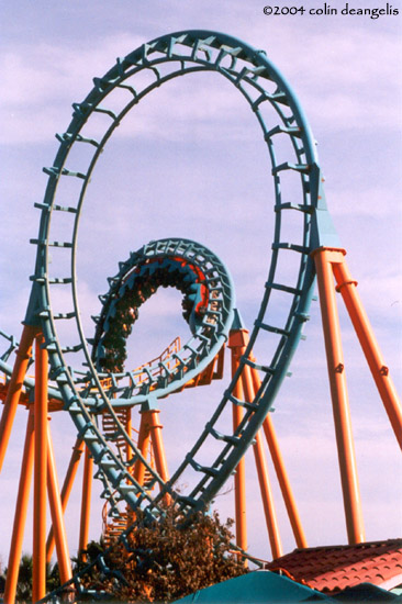Boomerang photo from Six Flags Fiesta Texas