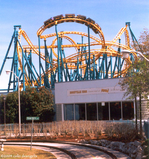 Poltergeist photo from Six Flags Fiesta Texas