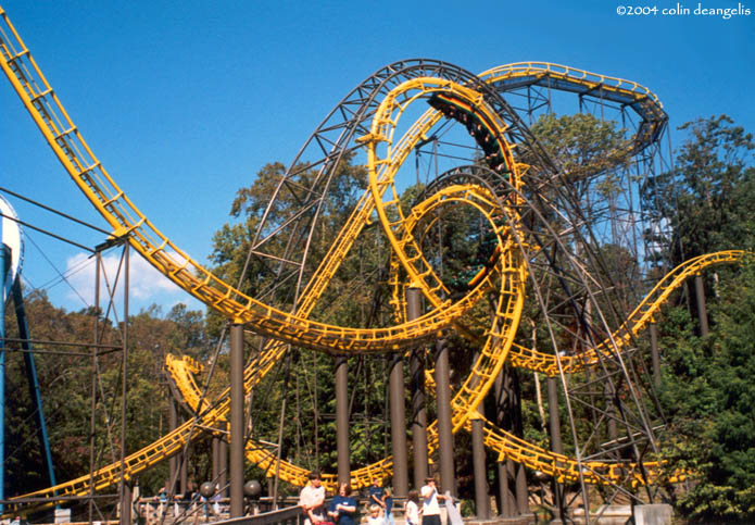 Loch Ness Monster The Photo From Busch Gardens Williamsburg Coasterbuzz