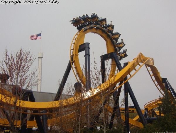 Batman: The Ride photo from Six Flags Great America