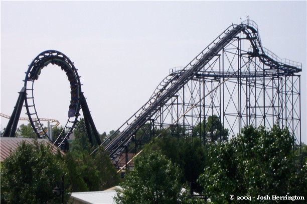 Carolina Cyclone photo from Carowinds