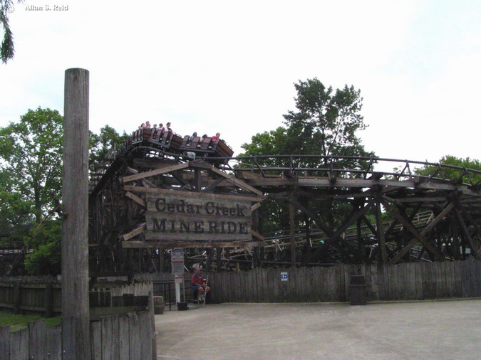 Cedar Creek Mine Ride photo from Cedar Point