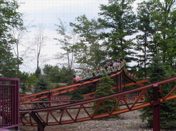 Beaver Land Mine Ride photo from Geauga Lake