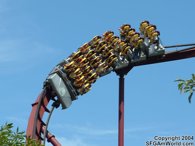 Iron Wolf photo from Six Flags Great America