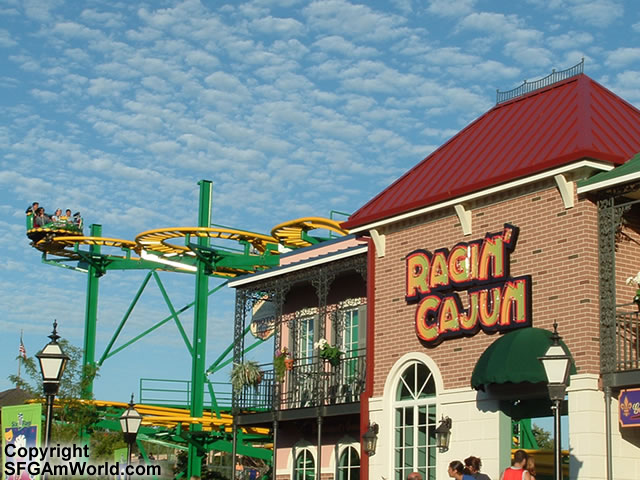 Ragin' Cajun photo from Six Flags Great America