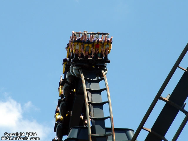 Batman: The Ride photo from Six Flags St. Louis