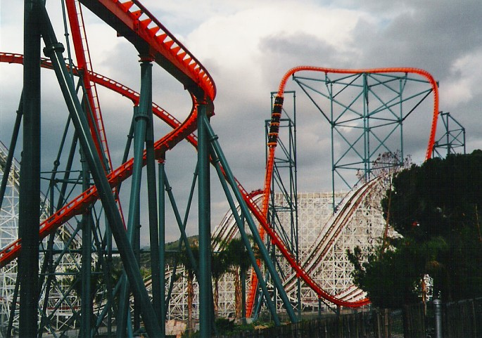 Goliath photo from Six Flags Magic Mountain
