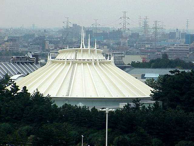 Space Mountain photo from Tokyo Disneyland