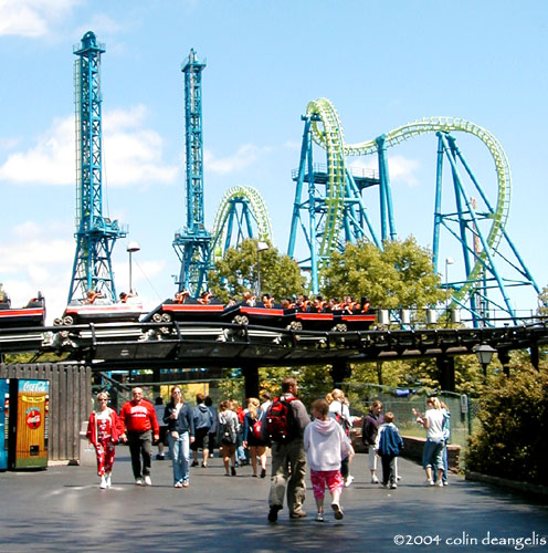 Deja Vu photo from Six Flags Great America