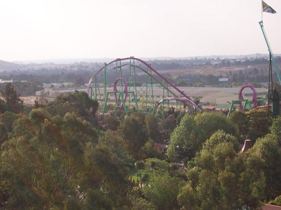 Anaconda photo from Gold Reef City Theme Park